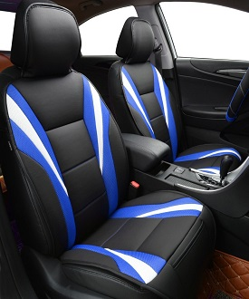 Car-pass-Summer-Luxury-Two-Color-Seat-Cover-universal-car-seat-covers-Red-Blue-Whole-Car
