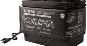 Car blanket for keep battery warm and safe