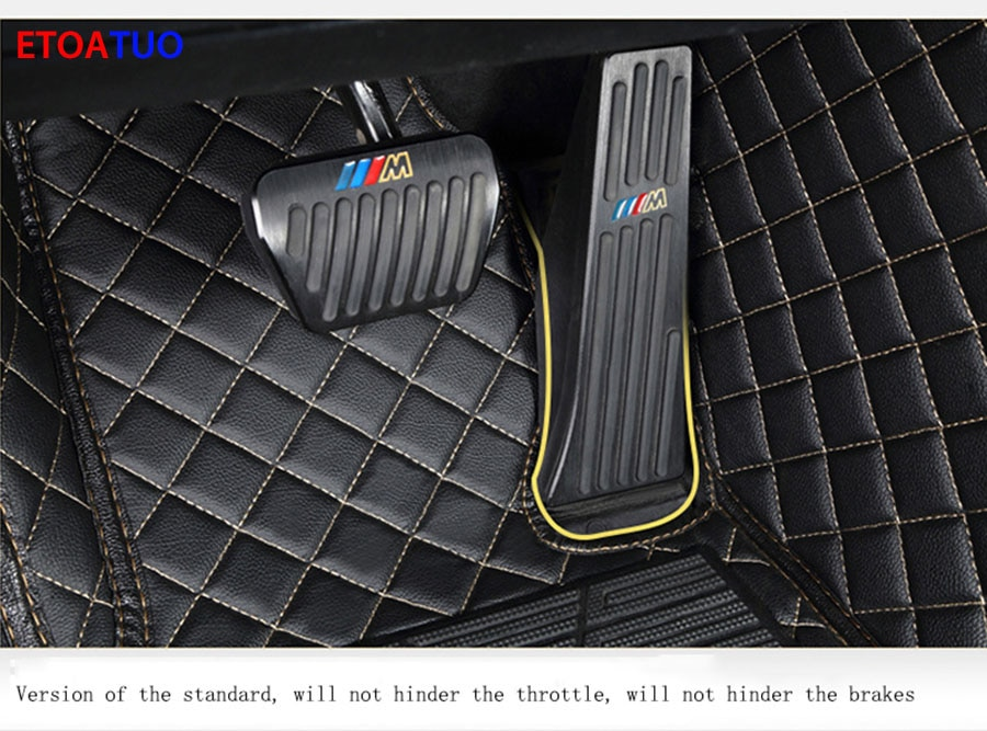 ETOATUO Car Floor Mats For Chrysler all models 300c 300 Grand Voyager car accessories car styling Car Carpet Covers foot mat car