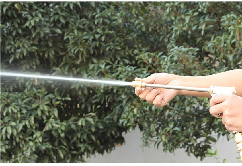 Expandable Magic Hose Pipe High-Pressure Car Wash Hose Adjustable Spray Flexible Home Garden Watering Hose Cleaning Water Gun